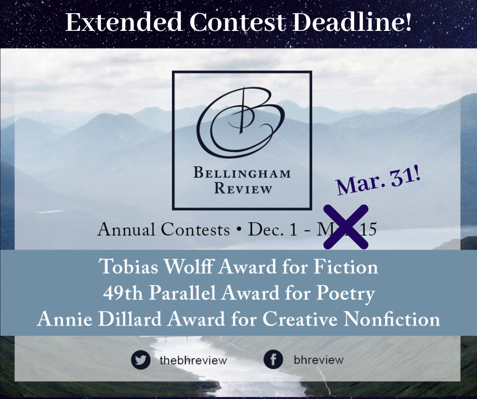 2019 Literary Contests | Bellingham Review